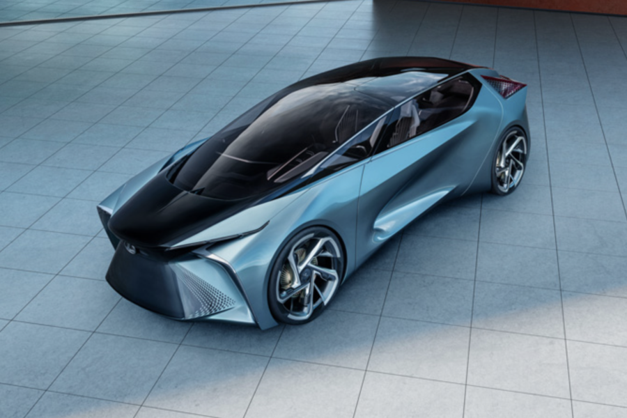 雷克萨斯LF-30纯电动概念车全球首发,预计2021年发布纯电平台