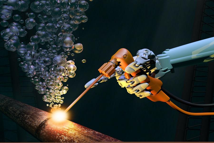 """水下机器人,带你倾听""""大海之声"""""""