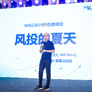 BAI汪天凡:风投的夏天降临   2019WISE超级进化者大会