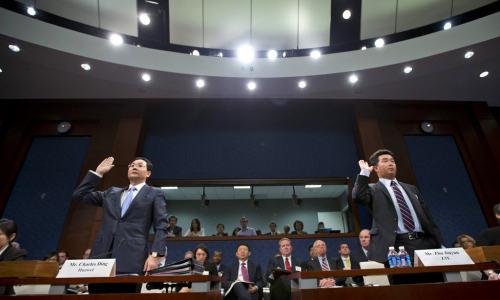 """美国议院给华为中兴设置两道""""窄门"""":安全与政府关系,华为中兴未能通过"""