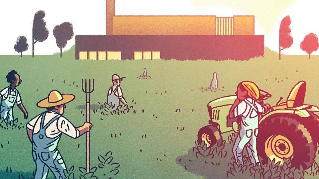 未来,种田就像点外卖,农民也可以肥宅