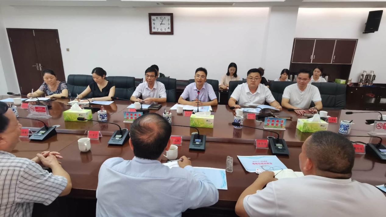 深化政企交流 江西省上犹县与天道创服集团举行工作座谈