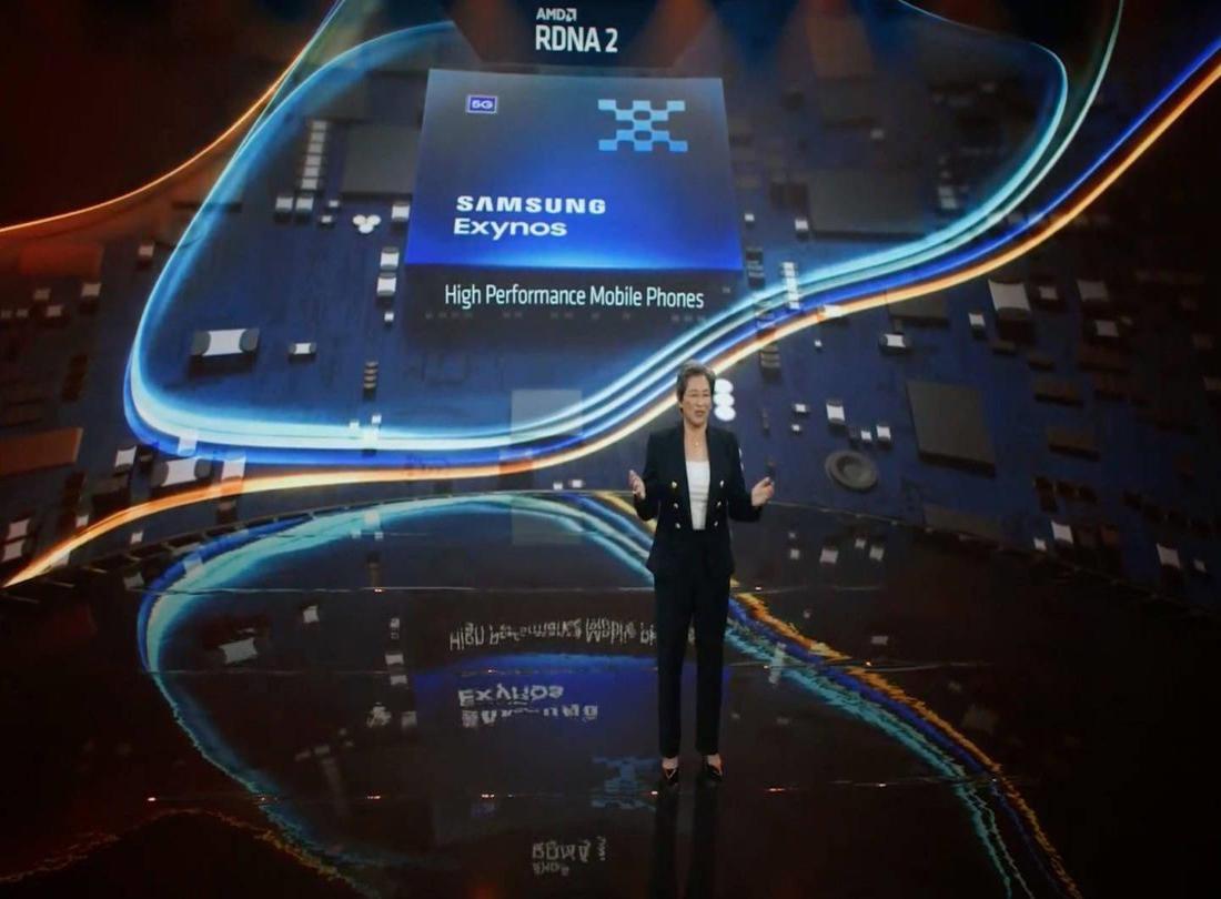 超威(AMD)CEO苏姿丰在Computex2021展上表示,公司已与特斯拉、三星展开合作.jpg