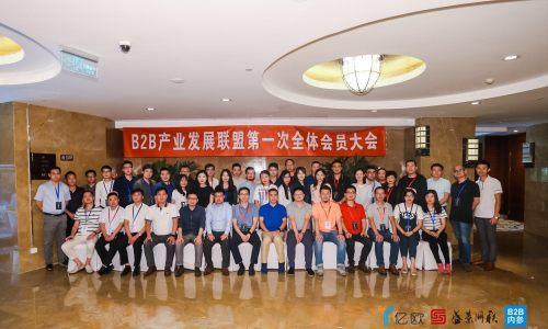 """""""B2B产业发展联盟""""成员大会成功举行,近百家企业共同见证"""