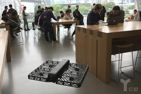 又一家国产无人机公司获苹果认可,零零无限宣布入驻Apple Store