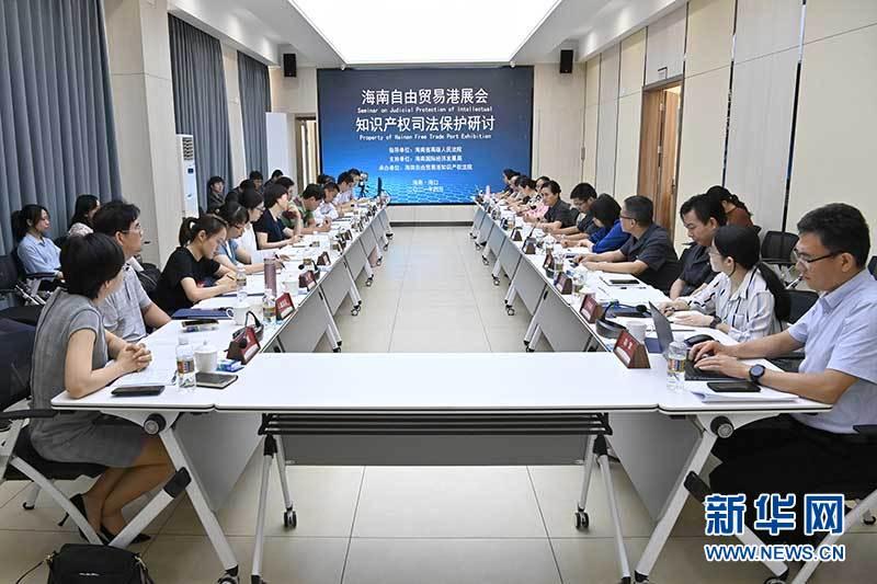 海南自由贸易港展会知识产权司法保护研讨会召开