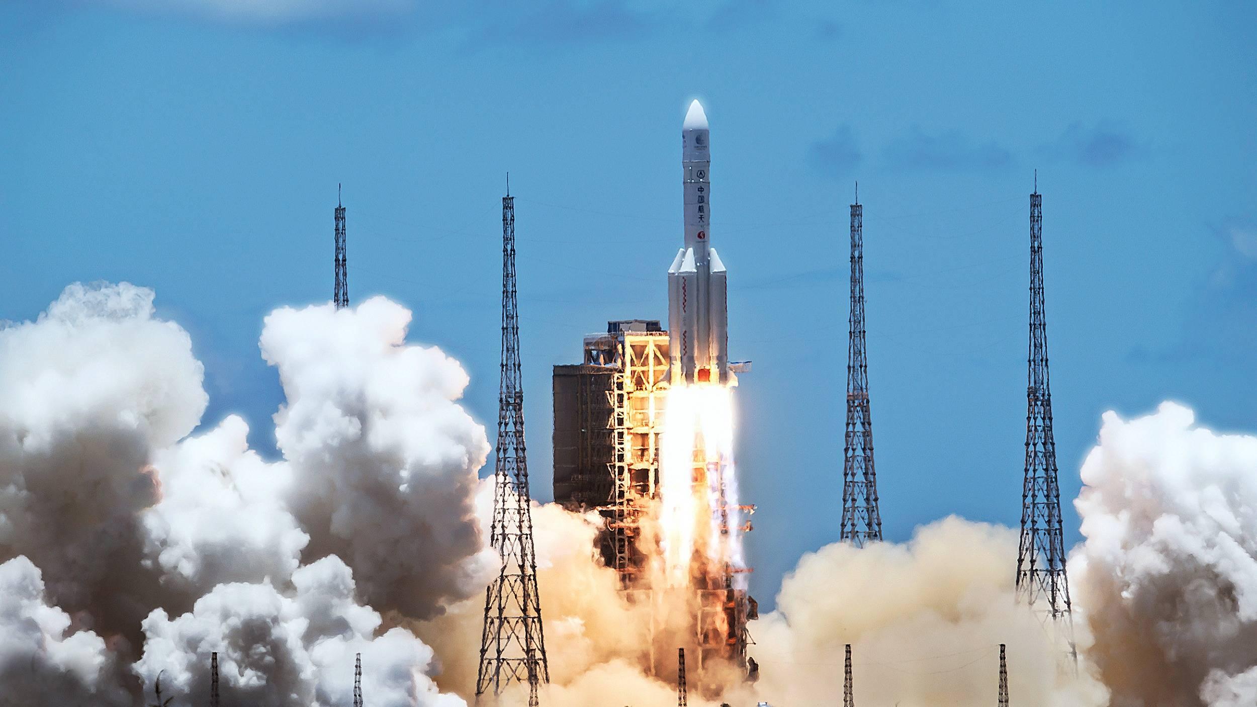 """发射成功:中国""""天问一号""""将对火星进行全球探测"""
