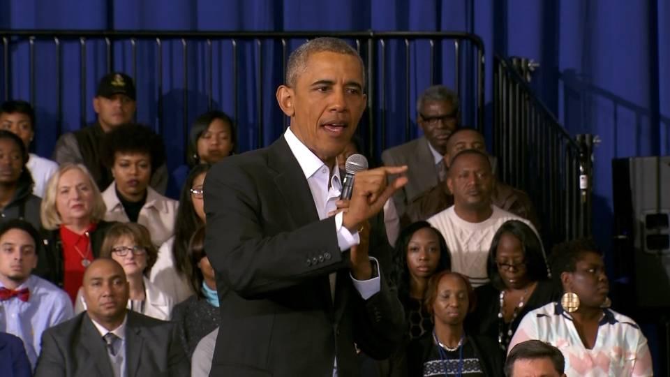 """奥巴马发布攻克癌症的""""登月计划"""",志在5年内取得重大突破"""