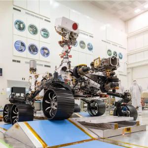 """NASA下一代火星车完成地面试验领到""""驾照"""""""