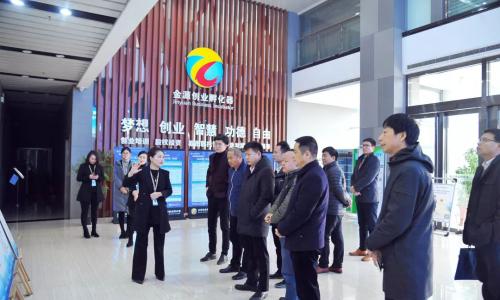 天道创服集团陈善铭参观考察河南中小企业服务市场