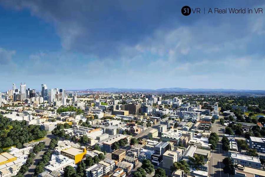 """51VR和它的""""3D模拟城市""""梦想,正在给城市大脑带来一次变革"""