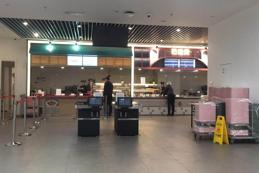 小米、新浪食堂都在用,全流程无接触配餐