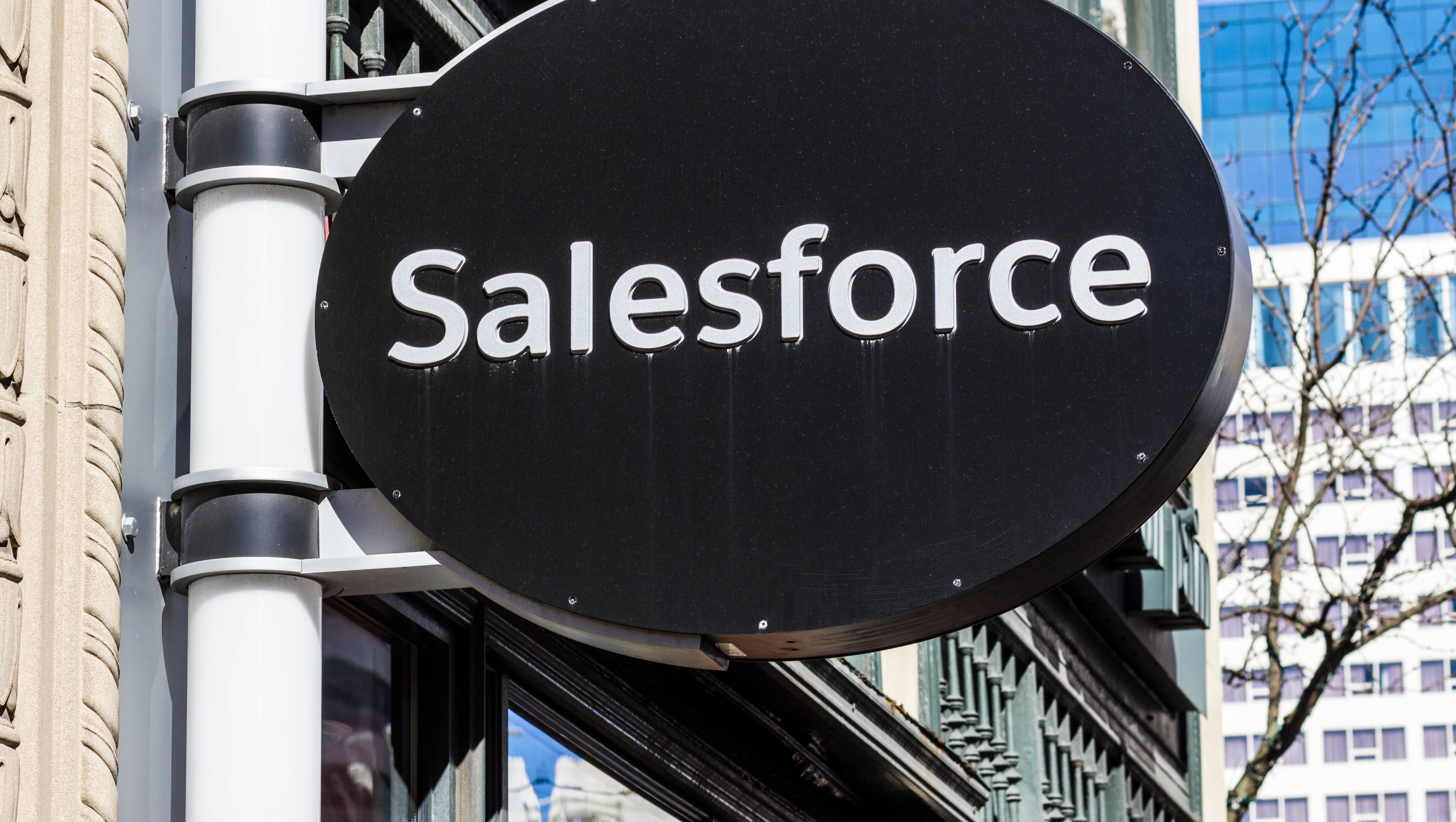 后浪Salesforce如何把前浪拍在沙滩上?