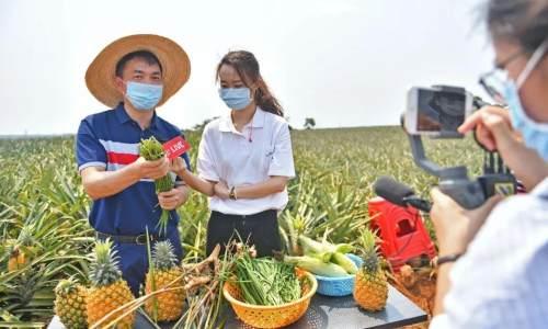 开网店、拍视频、做直播,越来越多农民通过网络卖出好产品过上好日子