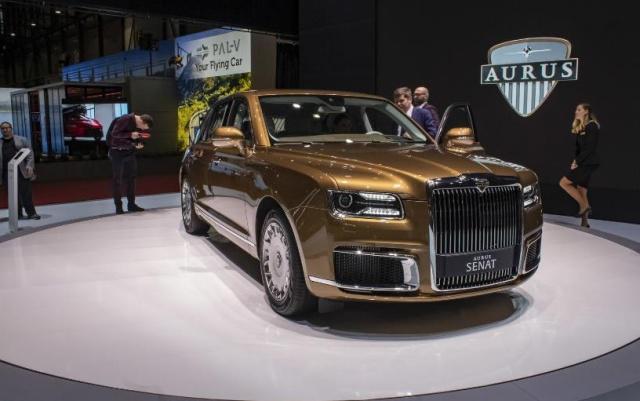 俄罗斯首个豪华汽车品牌Aurus开始量产.jpeg