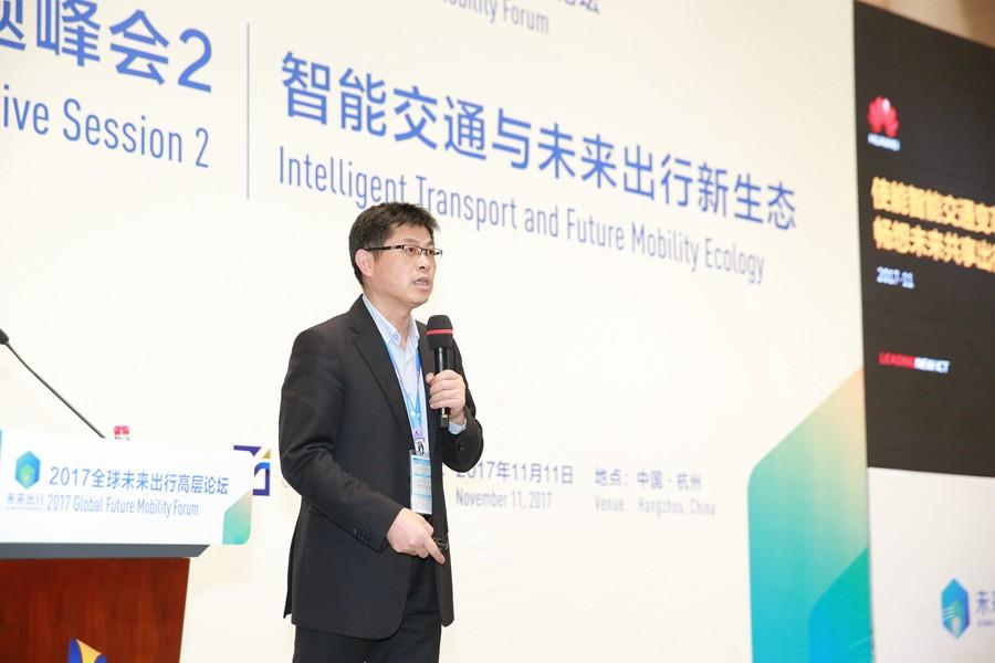 华为物联网解决方案总裁蒋旺成:车联网发展的三大关键词