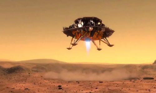 天问一号着陆器成功降落火星,还带去了祝融号火星车