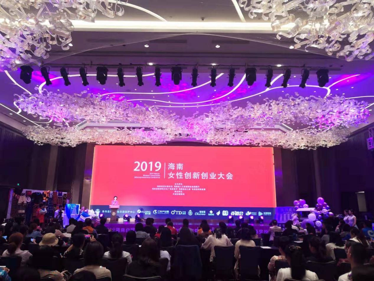2019海南自贸区(港)女性创新创业大会| 百位海内外人士共绽巾帼之美