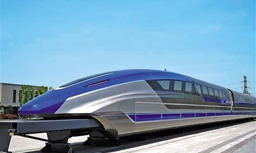 青岛:时速600公里的高速磁浮正式下线