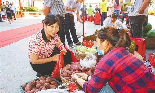 """海南儋州举办2021年""""消费助农""""大集市首场活动"""