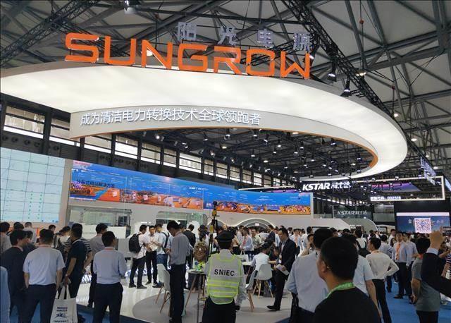 """今日,在SNEC 2021现场,阳光电源全球首发光•储""""1+X""""模块化逆变器.jpg"""