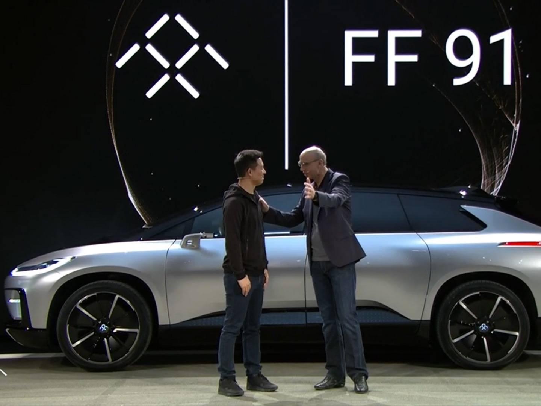 法拉第展示首款量产车 FF91,为何我怎么看都像一辆概念车?